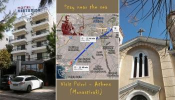 Από το Φάληρο βόλτα στου Ψυρρή - from the sea to Psirri..